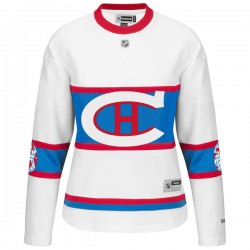Women's Montreal Canadiens Christian Thomas Reebok Black Authentic 2016 Winter Classic NHL Jersey