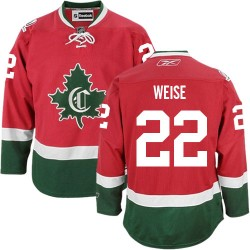 Adult Montreal Canadiens Dale Weise Reebok Red Authentic New CD Third NHL Jersey