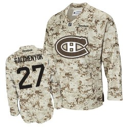 Adult Montreal Canadiens Alex Galchenyuk Reebok Camouflage Authentic NHL Jersey