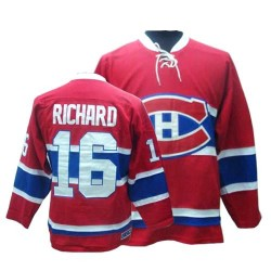 Adult Montreal Canadiens Henri Richard CCM Red Authentic Throwback NHL Jersey