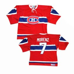 Adult Montreal Canadiens Howie Morenz CCM Red Premier Throwback NHL Jersey