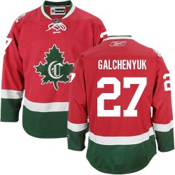 Youth Montreal Canadiens Alex Galchenyuk Reebok Red Authentic New CD Third NHL Jersey