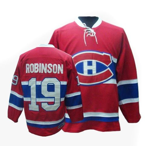 Adult Montreal Canadiens Larry Robinson CCM Red Premier Throwback NHL Jersey