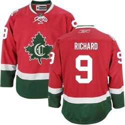 Adult Montreal Canadiens Maurice Richard Reebok Red Premier New CD Third NHL Jersey