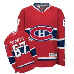 Youth Montreal Canadiens Max Pacioretty Reebok Red Authentic Home NHL Jersey
