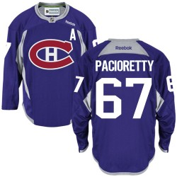 Adult Montreal Canadiens Max Pacioretty Reebok Purple Authentic Practice NHL Jersey