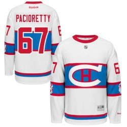 Adult Montreal Canadiens Max Pacioretty Reebok Black Premier 2016 Winter Classic NHL Jersey