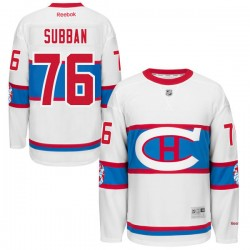 Adult Montreal Canadiens P.K. Subban Reebok Black Authentic 2016 Winter Classic NHL Jersey