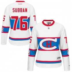 Women's Montreal Canadiens P.K. Subban Reebok Black Premier 2016 Winter Classic NHL Jersey
