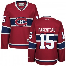 Women's Montreal Canadiens Pierre-alexandre Parenteau Reebok Red Premier Home NHL Jersey