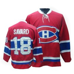 Adult Montreal Canadiens Serge Savard CCM Red Premier Throwback NHL Jersey